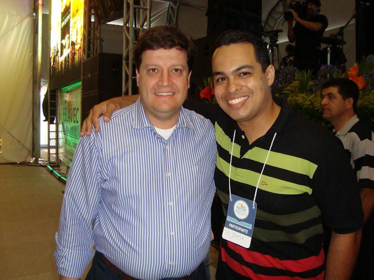 Eu e o Pr Jocymar Fonseca