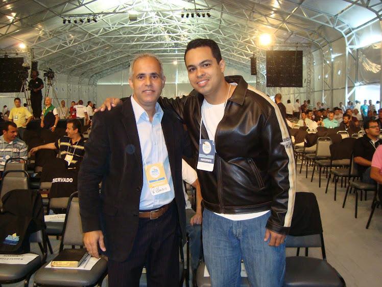 Eu e o Pr Cláudio Duarte