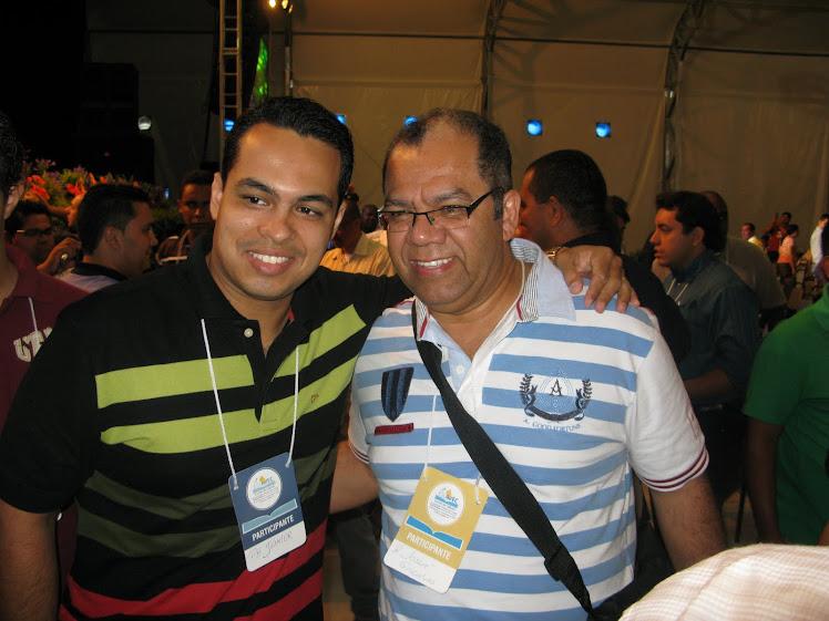 Eu e o Pr Josué Gonçalves