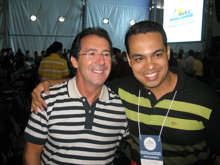 Eu e o Pr Silmar Coelho