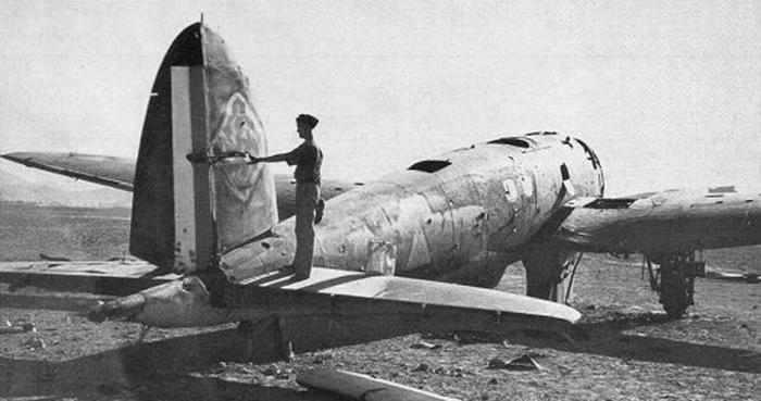He111 en Siria