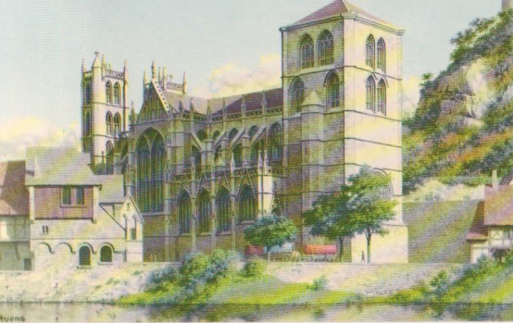 De kerk van O.L. Vrouw te Hoei