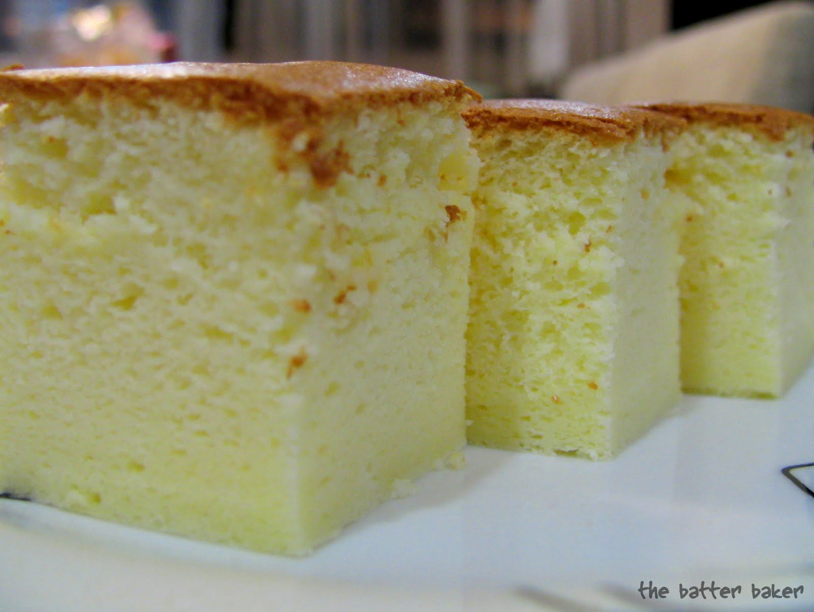 Cheesecake chiffon cake recipe
