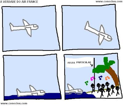 A verdade sobre o Avião Desaparecido Da Air France