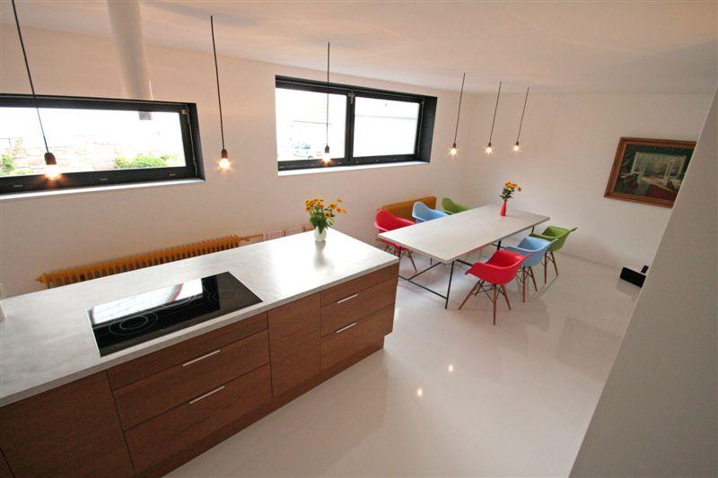 beton unique - beton cire: betoncire, betonarbeitsplatte - Küche Betonarbeitsplatte