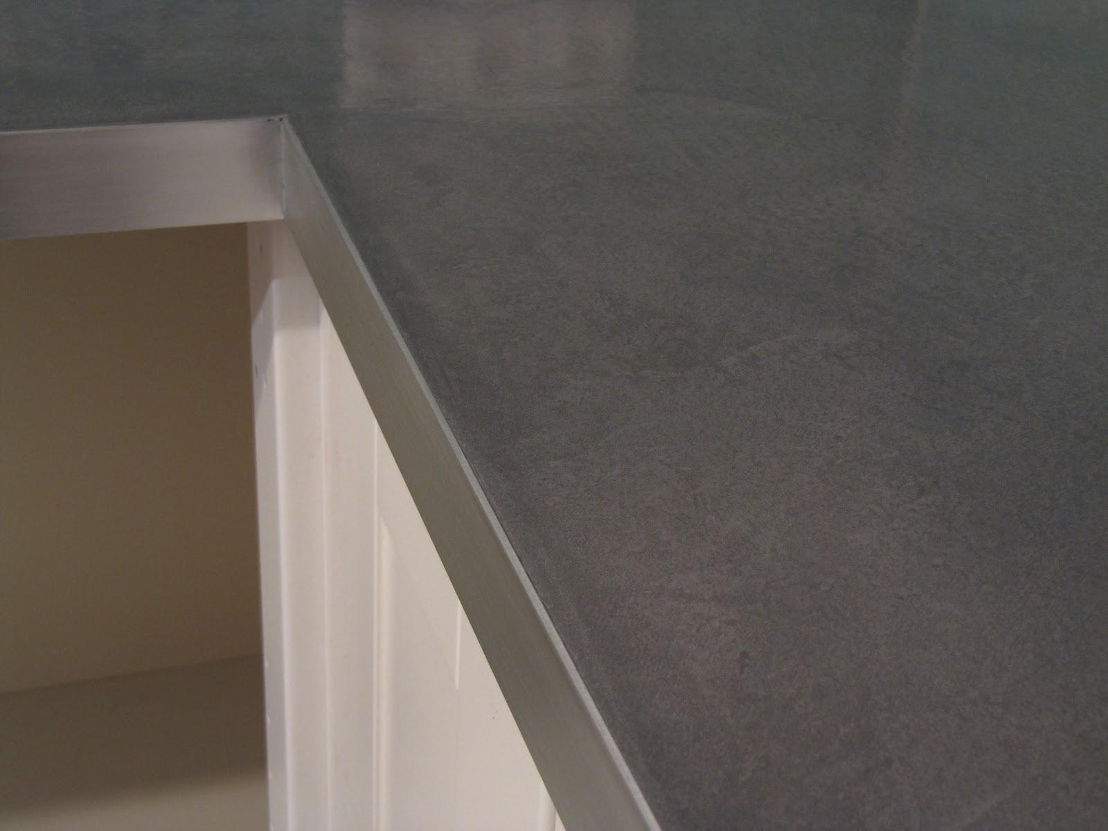 beton unique - beton cire: Beton Cire, Betonarbeitsplatte
