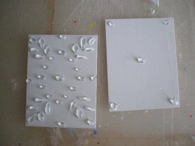 Cinderella moments the shabby chic dollhouse tin tiles for Shabby chic wall tiles