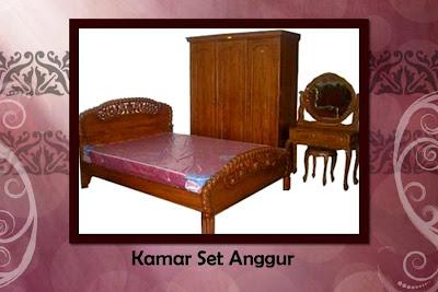 furniture jati palembang: aneka kamar set