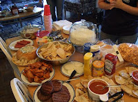 Awesome Spread of Super Bowl Party Food