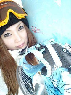 小川あさ美滑雪去!