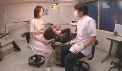 篠原梨織‧歯科助手がスケベすぎて イキたくなる歯科医院