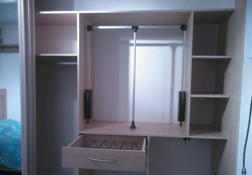 D y g muebles closet gris for Closets minimalistas df
