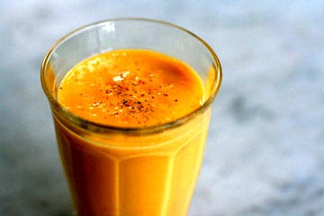 Mango lassi recipe Using mango pulp | Sweet Additions
