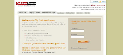 How to login to myquickenloans.com for My Quicken Loans?