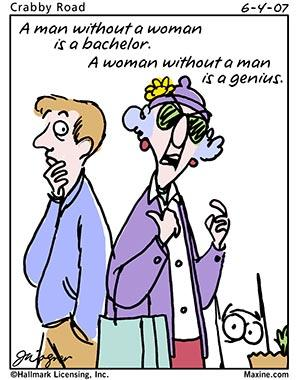 """Anything And Nothing: Cartoons: Maxine on the """"goodness ..."""