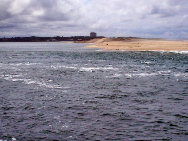A Foz do Rio Cávado