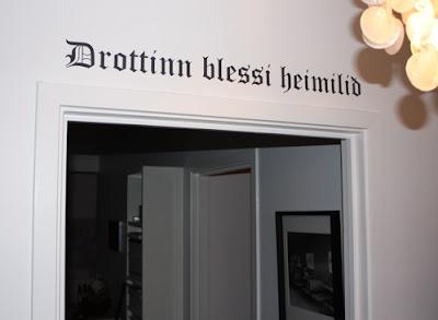 Drottinn blessi heimilið
