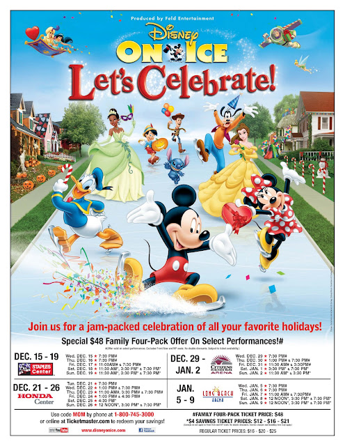 "MOM+Ticket+Discount+Flyer-1 Disney On Ice Presents ""Let'S Celebrate! -$48 Family Four-Pack"