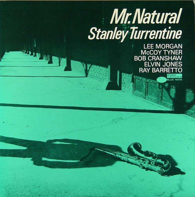 stanley turrentine - mr. natural (sleeve art)