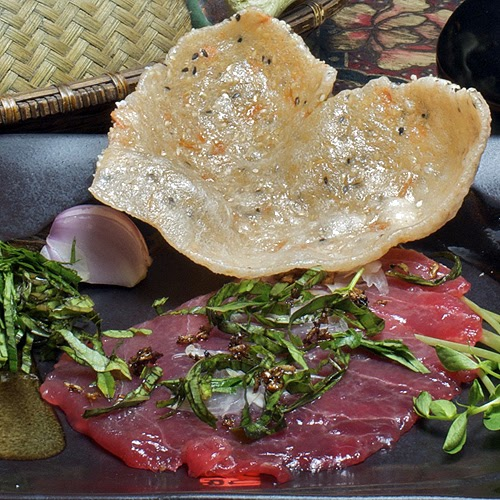 Javaholic vietnamese ahi carpaccio ca tai chanh for Sunh fish sacramento