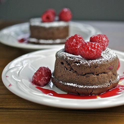 Lava Cake Ganache Center Recipe