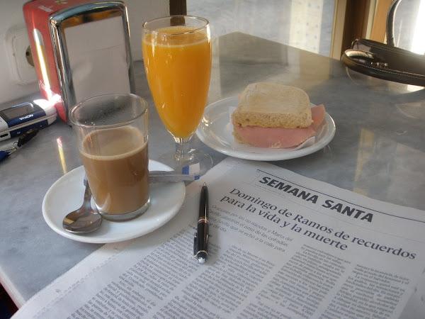 ¡¡¡ Buenos dias !!! Desayuno