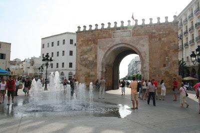 La Puerta de Francia, entrada a la Medina de Túnez