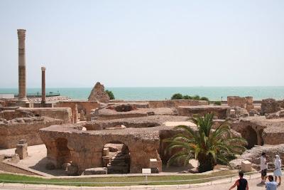 Cartago(قرطاج) Las termas de Antonino