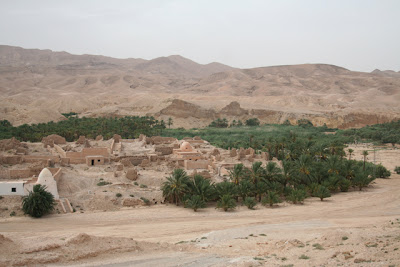 Pueblo viejo de Tameghza