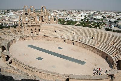 Coso del anfiteatro desde el 'Gallinero'