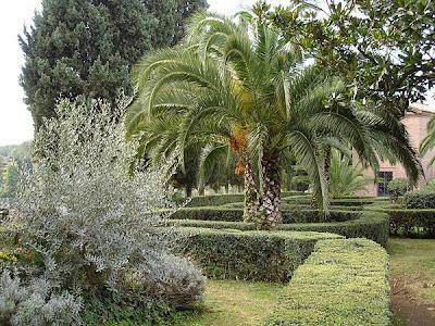 Jardin de las Catacumbas de San Calisto