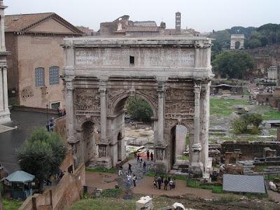 Arco de Septimio Severo - Foro Romano