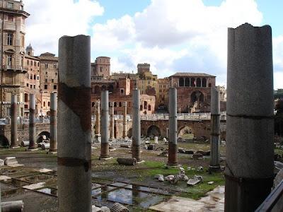 Columnas de la Basílica Ulpia - Foro de Trajano