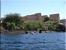 Templo de Isis en la isla de Agilkía