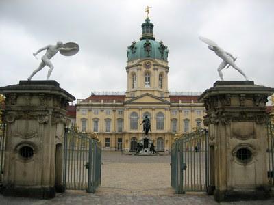 Fachada principal de Schloss Charlottenburg