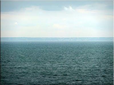 La costa británica vista desde Cap-Gris-Nez