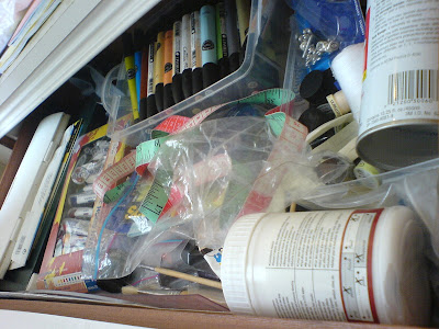 art stash drawer