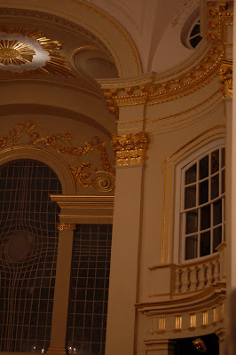 the recently restored gilding