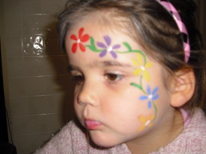 Dolly the Face - painter