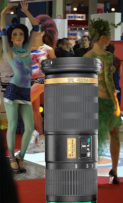 Pentax K200D lenses dance