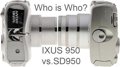 Canon SD950 vs SD850