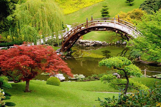 Japanski vrtovi Naj+ljep%25C5%25A1i+most+na+svijetu+u+magi%25C4%258Dnom+vrtu