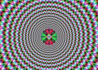 Pulsating Illusion- Visual Opitcal Illusion