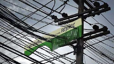 Rejoice Comb Billboard