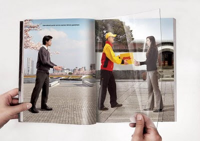 DHL Imaginative Advertising - More Like An Illusion