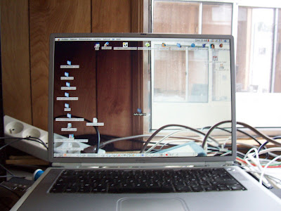 Transparent Desktop | Funny Optical Illusion