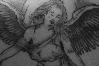 Lady Angel Tattoo Design - Tattoo Designs