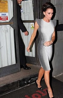 Slimming Apparel - Victoria Beckham Dress Illusion