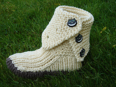 Free Knitting Patterns For Mukluk Slippers Very Simple Free