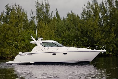 Mike Middleton at HMY Yacht Sales: New Tiara 4300 Sovran In Stock with twin Volvo IPS diesel pod ...